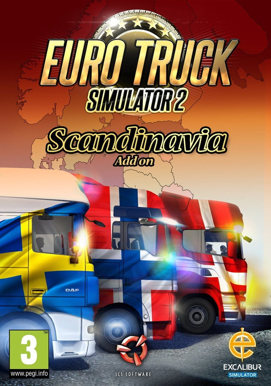 Euro Truck Simulator 2 Scandinavian Expansion CD Key
