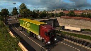 Euro Truck Simulator 2 Skandynawia Scr
