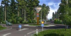 Euro Truck Simulator 2 Skandynawia Scr3